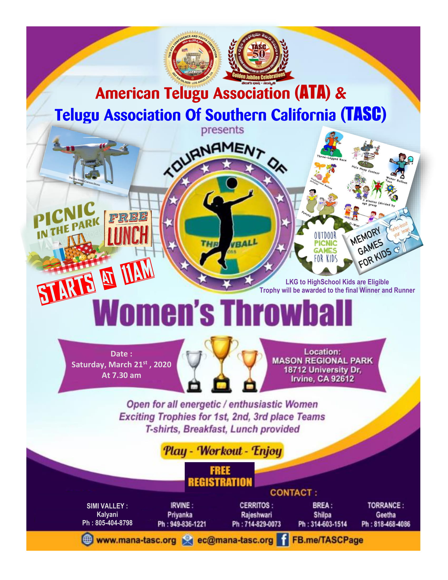 Women's Throwball