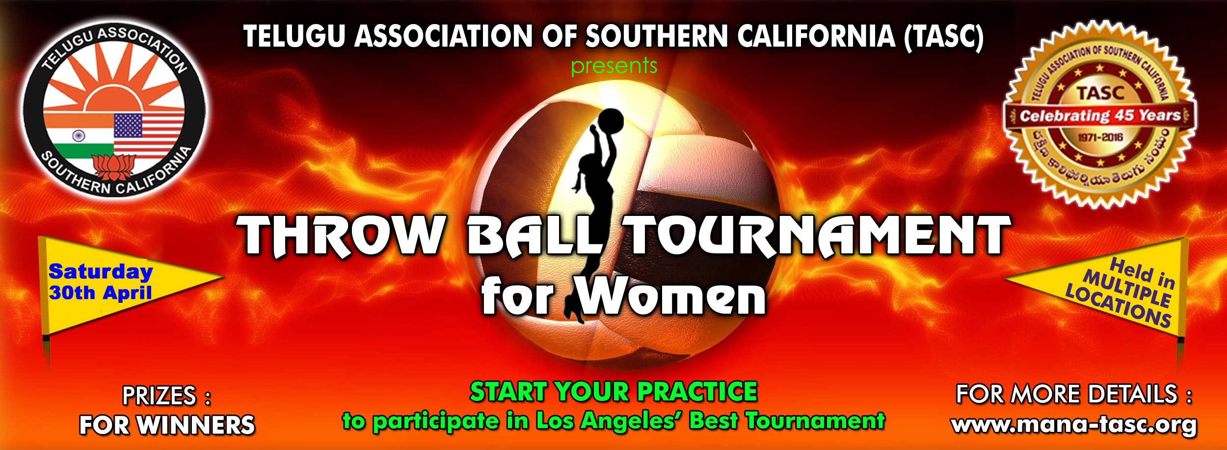 Throwball Tournament for Women