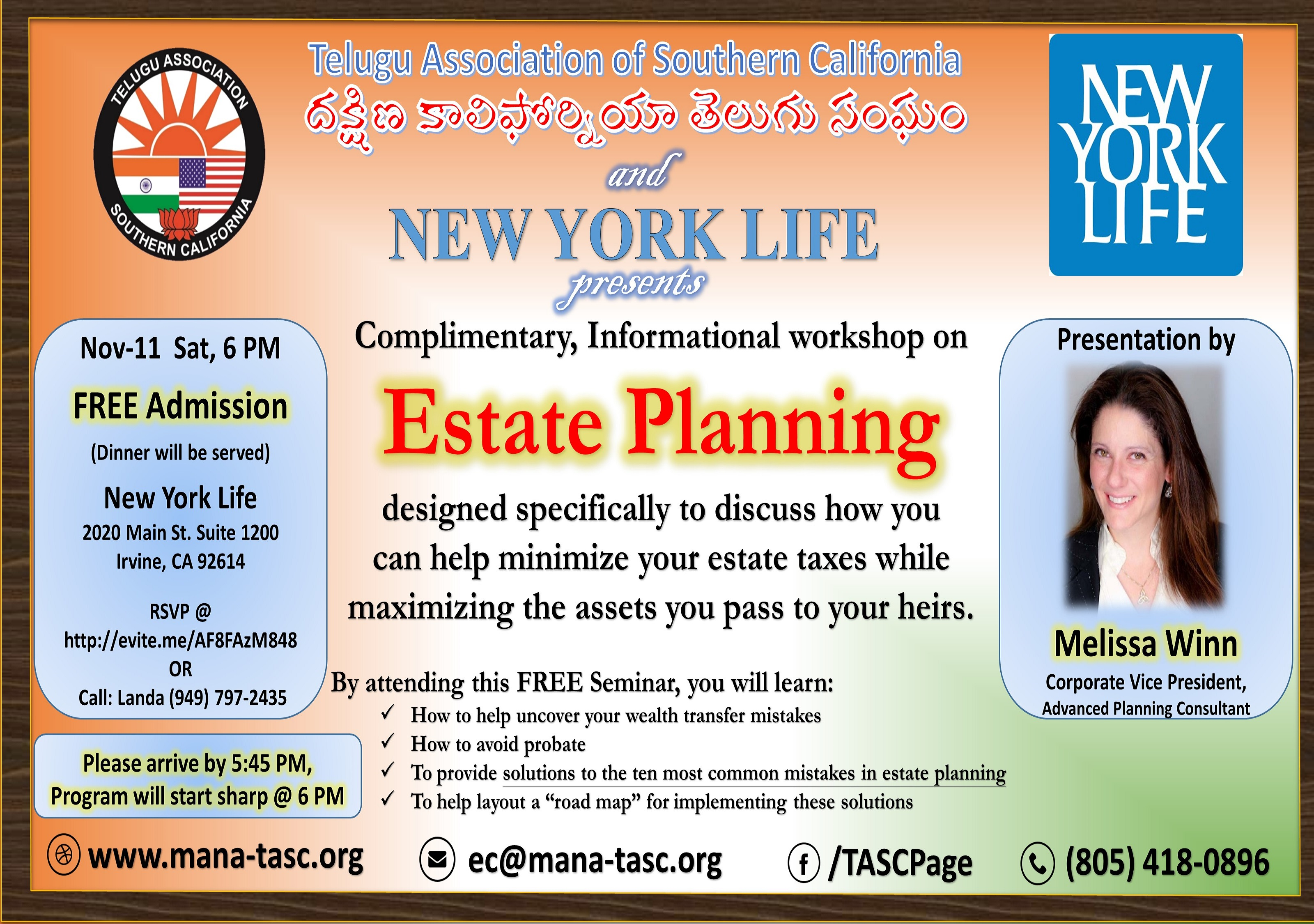 TASC Estate Seminar