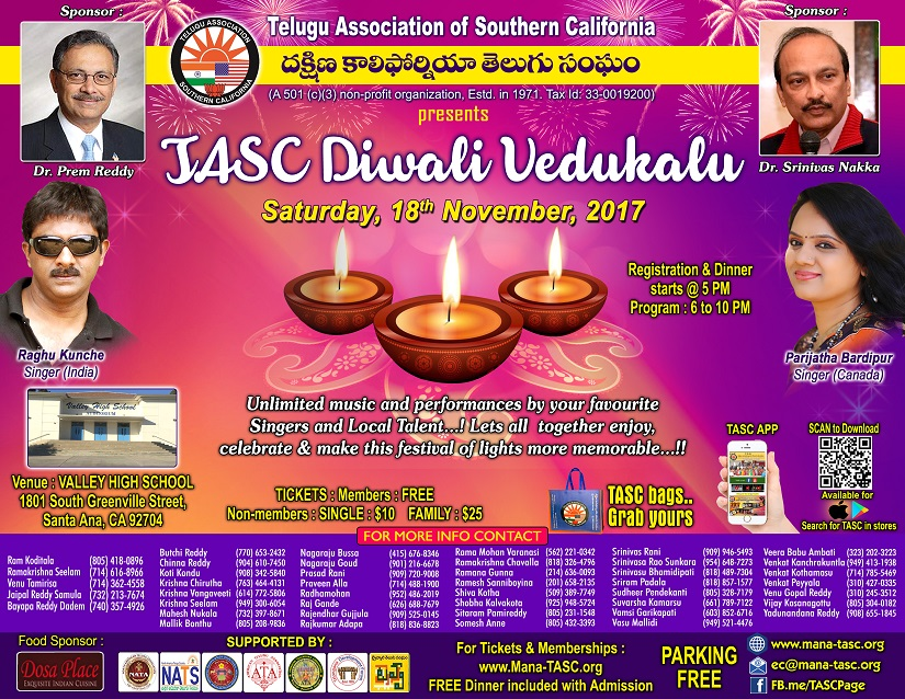 TASC Diwali Celebrations