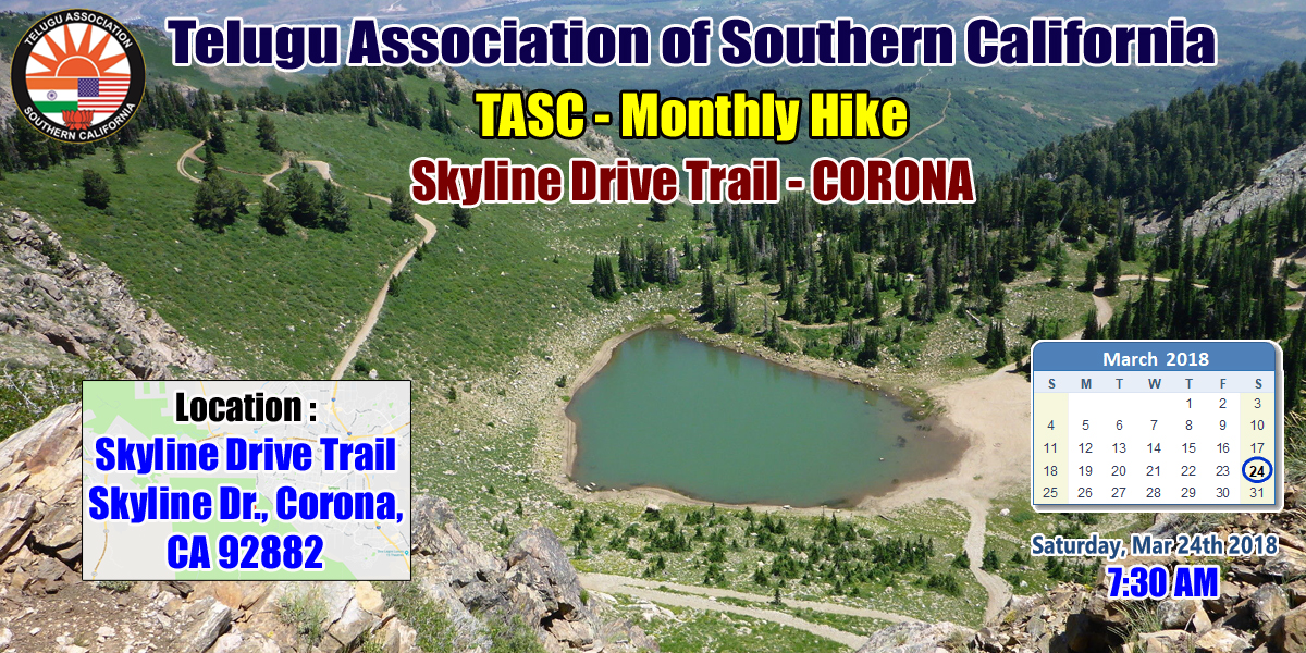 TASC Monthly Hike - March - Corona