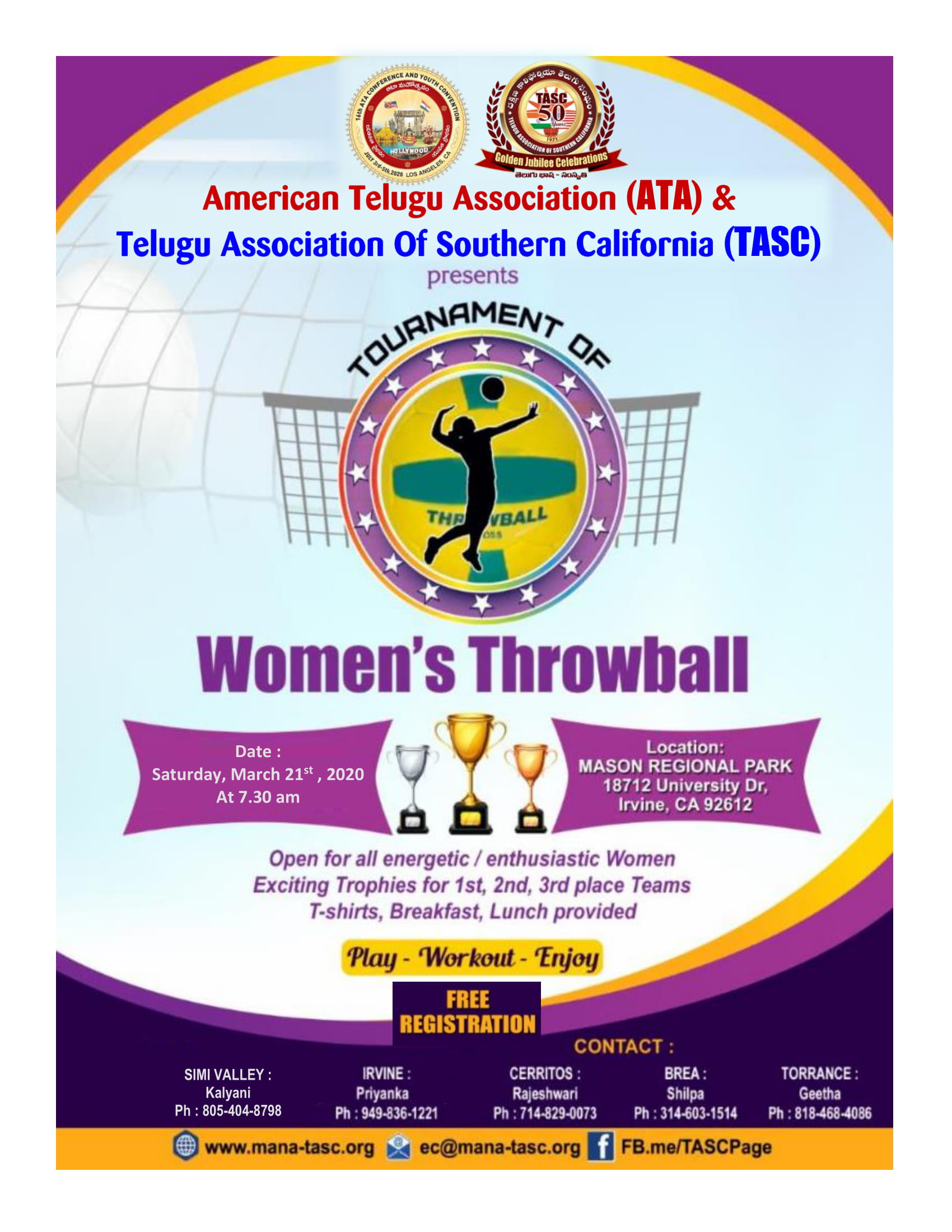 Women's Throwball